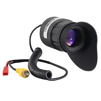 V780 0,5 Tuuman 1024x768 Näyttö Linssin yönäkö 21mm Eyepieces Kamera (musta)