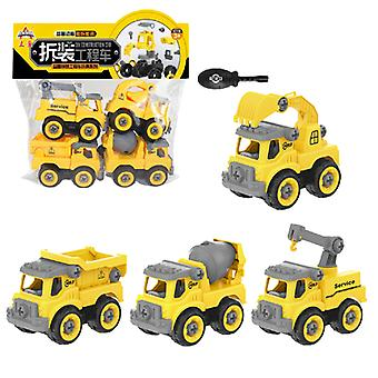 Children's Afneembare Engineering Vehicle Toy Type B