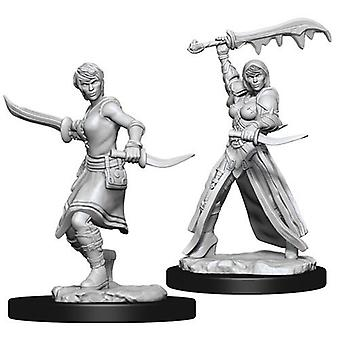 Female Human Rogue D&D Nolzur's Marvelous Unpainted Miniatures (Pack of 6)