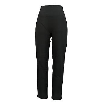Women With Control Leggings Smooth Sleek Tummy Ctrl Slim Leg Black A391211