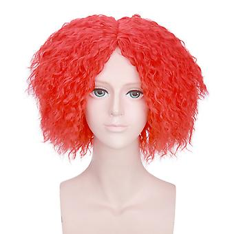 Anime Wigs Mad Hatter Cosplay Fluffy Perucas de Cabelo Sintético