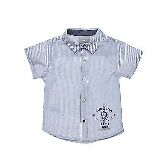 Alouette Boys' Striped Shirt Print And Star Button