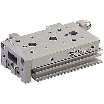 SMC Slide Table With Linear Bearing 12Mm Bore, 30Mm Stroke, End Stroke Adjuster