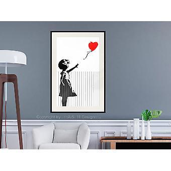 Poster - Banksy: Love is in the Bin-30x45