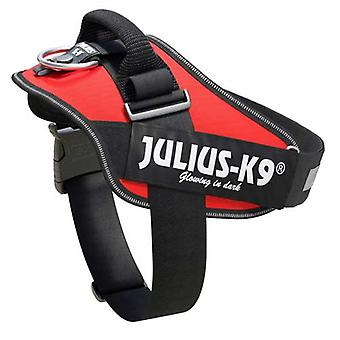 Julius-K9 IDC-Powerharness For Dogs Size: 1, Red