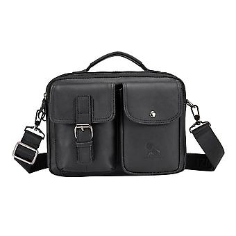Men Casual Leather Laptop Bag
