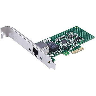 FengChun Gigabit PCIE Serveradapter für Intel I210-T1 - I210 Chip, Einzelner RJ45 Port, 1Gbit PCI