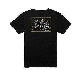 Rhythm Conflict Short Sleeve T-Shirt in Black