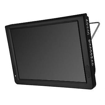 Portable 12 Inch Tft Led 1080p Hd Pvr H.265 Dvbt2 Digital Analog Tv Car