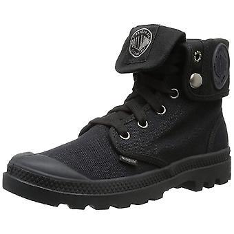Palladium Pallabase Twill Womens Black Black Casual Boots 5.5 UK