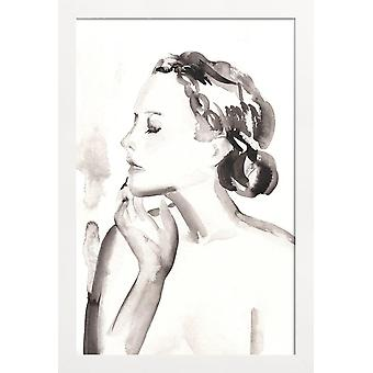 JUNIQE Print - Gently Does It - People Poster in Black & White