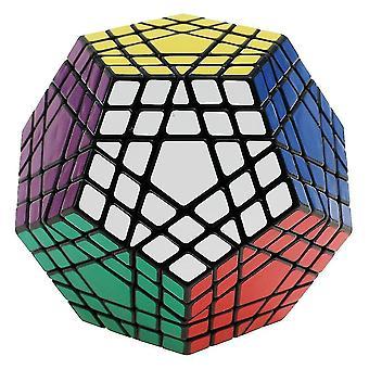 Bílá profesionální dodecahedron magická kostka hračka, rubikova kostka, twist puzzle učení vzdělávací az3641