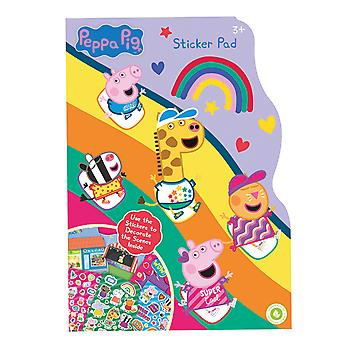 Peppa Pig Sticker Pad Childrens Activity Stickers Party Favour Kids