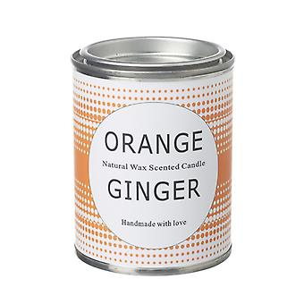 Orange Ginger Scented Candle By Heaven Sends
