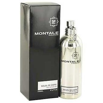 Montale Soleil de Capri par Montale Eau De Parfum Spray 3.3 Oz (femmes)