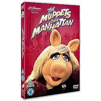 Muppets Take Manhattan 2012 DVD