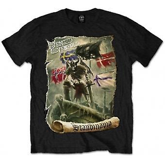 Avenged Sevenfold Scandinavia Mens Blk T Shirt: Small