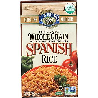 Lundberg Mix Rice Whlgrn Spnsh Org, Case of 6 X 6 Oz