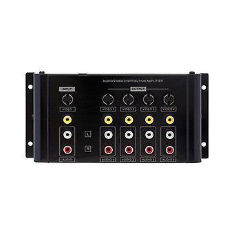 Pro2 4 Way Av Distribution Amplifier