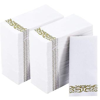 250 arkkia paperikäsipyyhkeitä vieraskylpyhuonehäihin