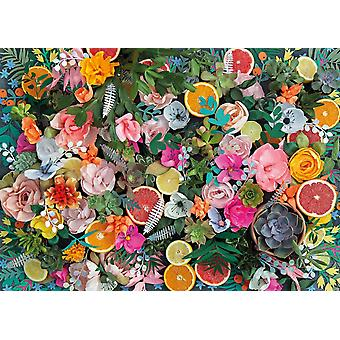 Gibsons Paper Flowers Jigsaw Puzzle (1000 Pieces)