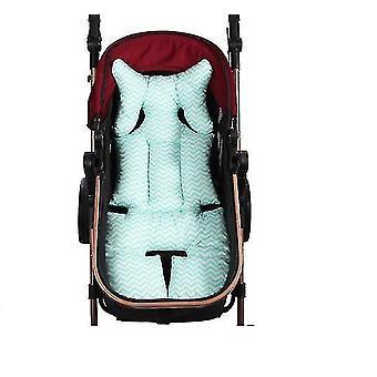 Baby Unisex baby autostoel insert en riem covers, lam, one size (BLAUW)