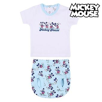 Set of clothes Mickey Mouse White