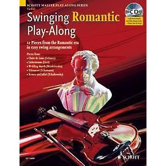 Schott Swinging Romantyczny Play-Along Violin Edition z płytą