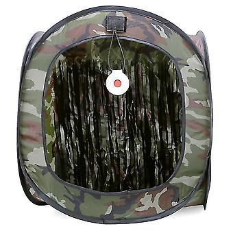 Auto Pop Up Target Tent Shooting Training Tent Foldable Target Holder Case Reusable Training Net