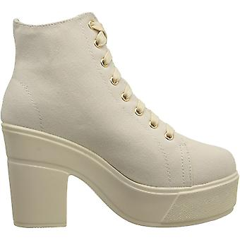 Dirty Laundry by Chinese Laundry Women's Campus Queen Canvas Combat Boot