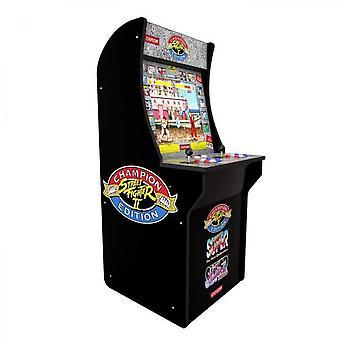 Evolutie - Street Fighter 2 Arcade Bollard