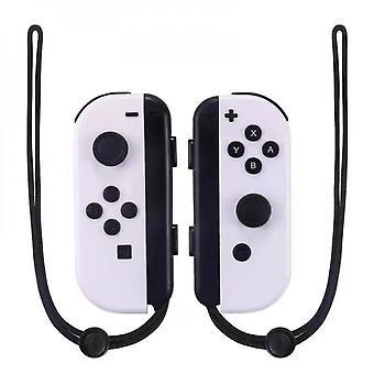 Controlador inalámbrico Bluetooth Joy-con L/r compatible con Nintendo Switch-blanco
