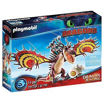 Playmobil Dragon Racing: Snotlout y Hookfang 70731