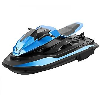 Electric Remote Control Boat Children Playing Water Competition Rc Toy(Blue)