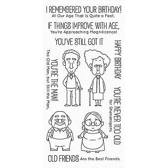 """بلدي الأشياء المفضلة Birdie براون الطوابع 4 """"X8"""" -- الأصدقاء القدامى"""