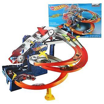 Rotonde elektrische track combinatie auto speelgoed set