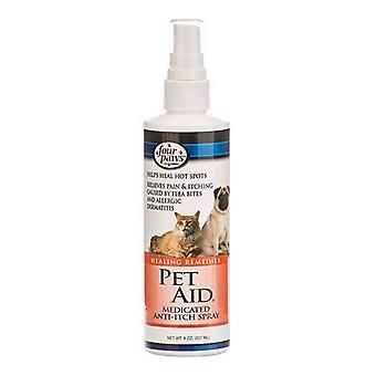 Four Paws Pet Aid Medicated Anti-Itch Spray - 8 oz