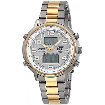 ONE (Eco Tech Time) Gold Stainless Steel EGS-11345-23M Men's Watch