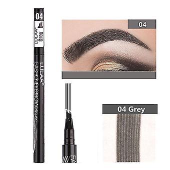Eyebrow enhancers waterproof cosmetic eyebrow pen 04 grey 1