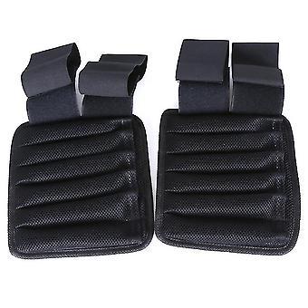 Homemiyn gewichtdragende vest full body oefening pols en been, 1kg (pols) (zwart 1KG)