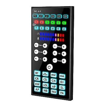 Zvuková karta Bluetooth audio externí usb headset mikrofon živé vysílání zvuková karta pro mobilní zařízení