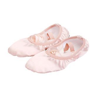 Ruban Ballet Pratique Chaussures Lace-up Chaussures de Yoga Semelle souple Chaussures de danse pour filles Femmes - Taille 30