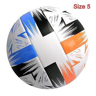 Ballon de football Taille standard 5 Balle de football cousue à la machine Pu Matériel Sports League Match Training Balls Futbol Voetbal
