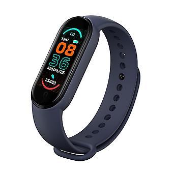 Smart Armband Farbbildschirm Sport Gesundheit Schrittzähler Armband Herzfrequenz Blutdruck Schlaf Musik Überwachung