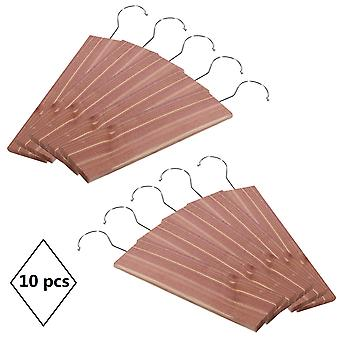 10 Cedar Wood Moth Insect Repellent Hanging Drawer Odour Protection