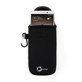 InventCase Neoprene Protective Pouch Case for Huawei Mate 9 - Black