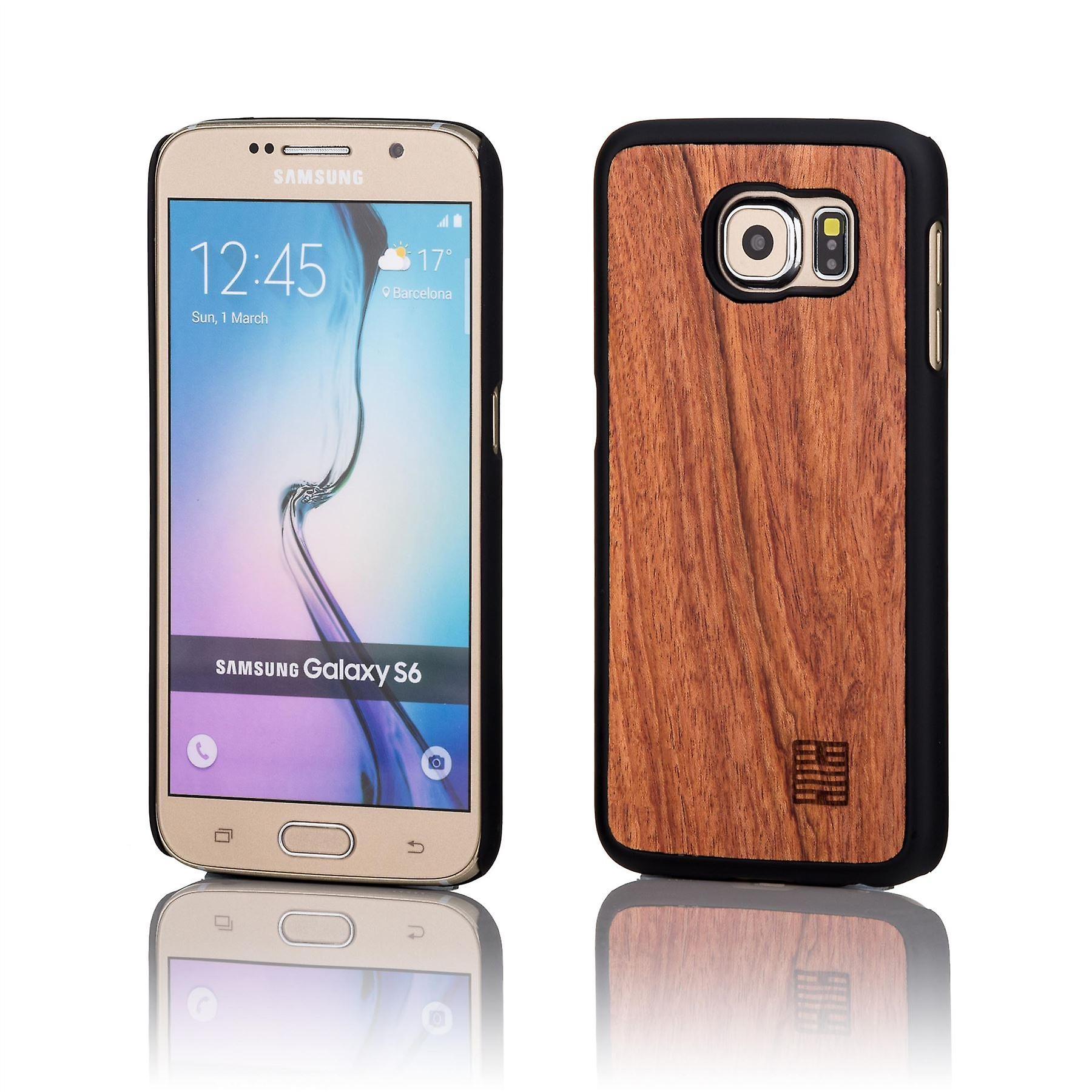32nd Wooden Back case for Samsung Galaxy S6 (SM-G920) - Cherry