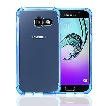 32nd kova geeli kotelo Samsung Galaxy A3 (2017) - Deep Blue