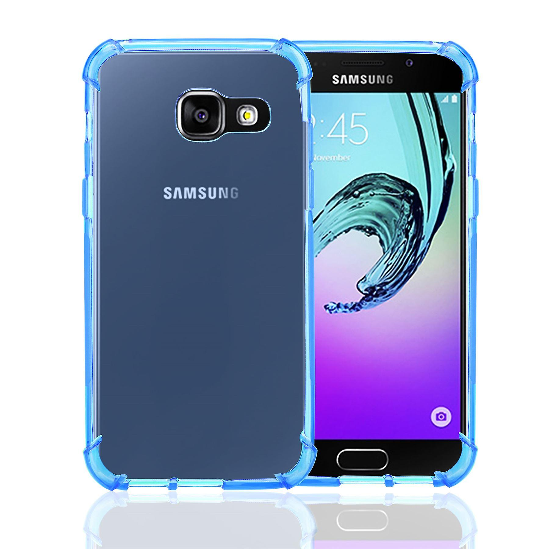 32nd Tough Gel case for Samsung Galaxy A3 (2017) - Deep Blue