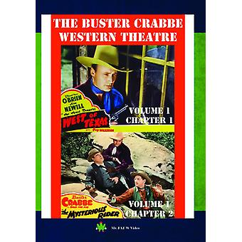 Buster Crabbe Western Theatre Vol 1 [DVD] USA import